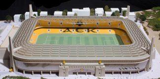 Ψηφίζεται και η υπογειοποίηση για το γήπεδο της ΑΕΚ