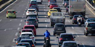 Αυξημένη η κίνηση στο δρόμο για Χαλκιδική