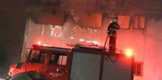 Κινητοποίηση της Πυροσβεστικής στο Κουκάκι λόγο πυκνών καπνών