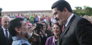 Απέρριψε πρόταση του Μαδούρο για την Εθνική Βενεζουέλας ο Μαραντόνα