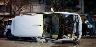 Τούμπαρε αυτοκίνητο στον Περιφερειακό – Κανένας τραυματίας