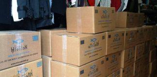 Χίλια κιβώτια ανθρωπιστικής βοήθειας από την Κύπρο