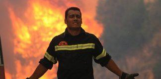 Υπό μερικό έλεγχο η φωτιά στο Καλαμάκι Ζακύνθου