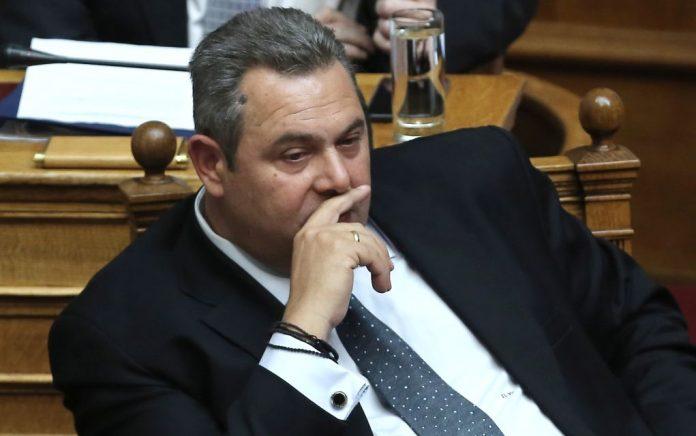 Στη Βουλή για απιστία ο Πάνος Καμμένος