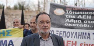 Λαφαζάνης: Εμπρός και στην Ελλάδα στο δρόμο που χάραξαν τα «κίτρινα γιλέκα»