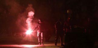 Επιθέσεις με μολότοφ χθες το βράδυ στα Εξάρχεια