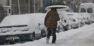 Πολύ ισχυρή χιονόπτωση στα Τρίκαλα! (vd) - Politik.gr