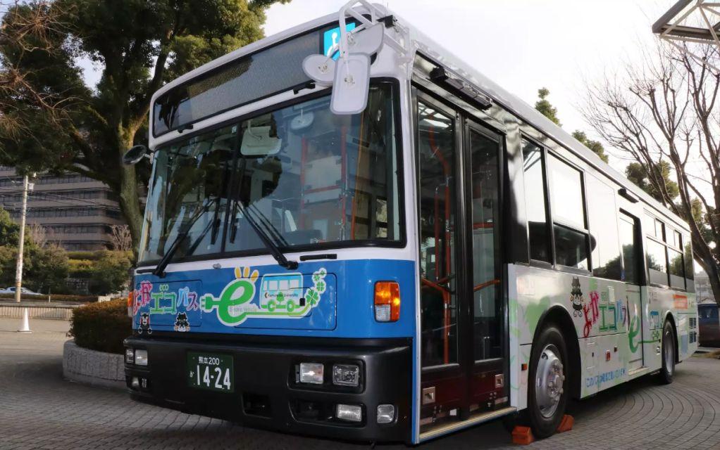 Ιαπωνία ηλεκτροκίνητο λεωφορείο
