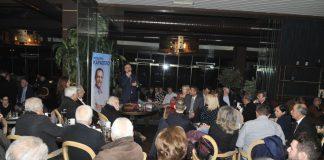 Ξεχείλισε από κόσμο η εκδήλωση του Θ. Καράογλου στο δήμο Ωραιοκάστρου