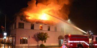 Θεσσαλονίκη: Φωτιά στο πρώην στρατόπεδο Παύλου Μελά