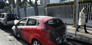 Εμπρησμός δύο αυτοκινήτων στην Πυλαία