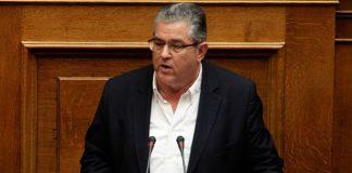 Το ΚΚΕ σκέφτεται να αποχωρήσει από την πρόταση μομφής