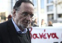 Λαφαζάνης: «Θηλιά στον ελληνικό λαό η γραβάτα Τσίπρα»