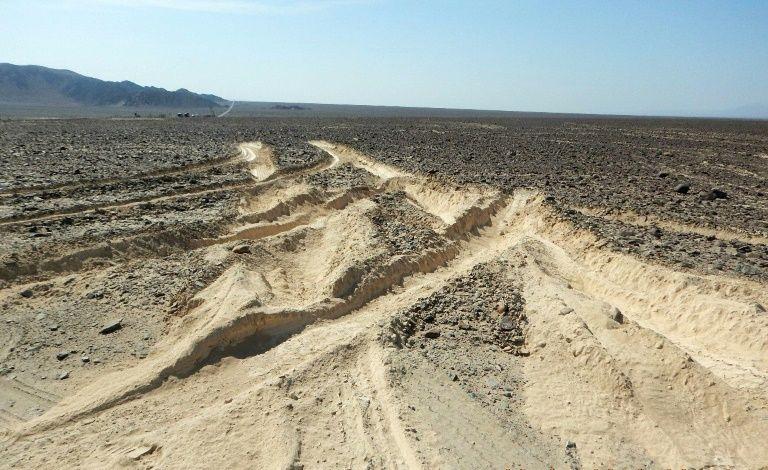 Περού: Ζημιά στις «Γραμμές της Νάσκα» από… μια λάθος στροφή! (pic)