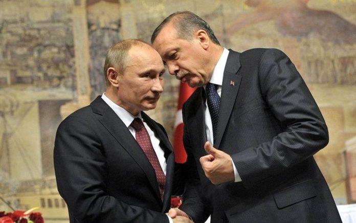 Για τη συνεργασία με τη Ρωσία θα συζητήσει ο Ερντογάν στη Μόσχα