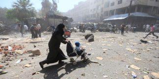 Φορτηγά απομάκρυναν αμάχους από τον τελευταίο θύλακα του ISIS