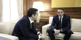 Ο Τσίπρα, ο Μητσοτάκης και ο... αντιπρόεδρος του Εδεσσαϊκού! (vd)