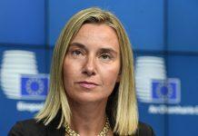 Τετ-α-τετ επαφές Μογκερίνι-Λαβρόφ για Βενεζουέλα και Ουκρανία