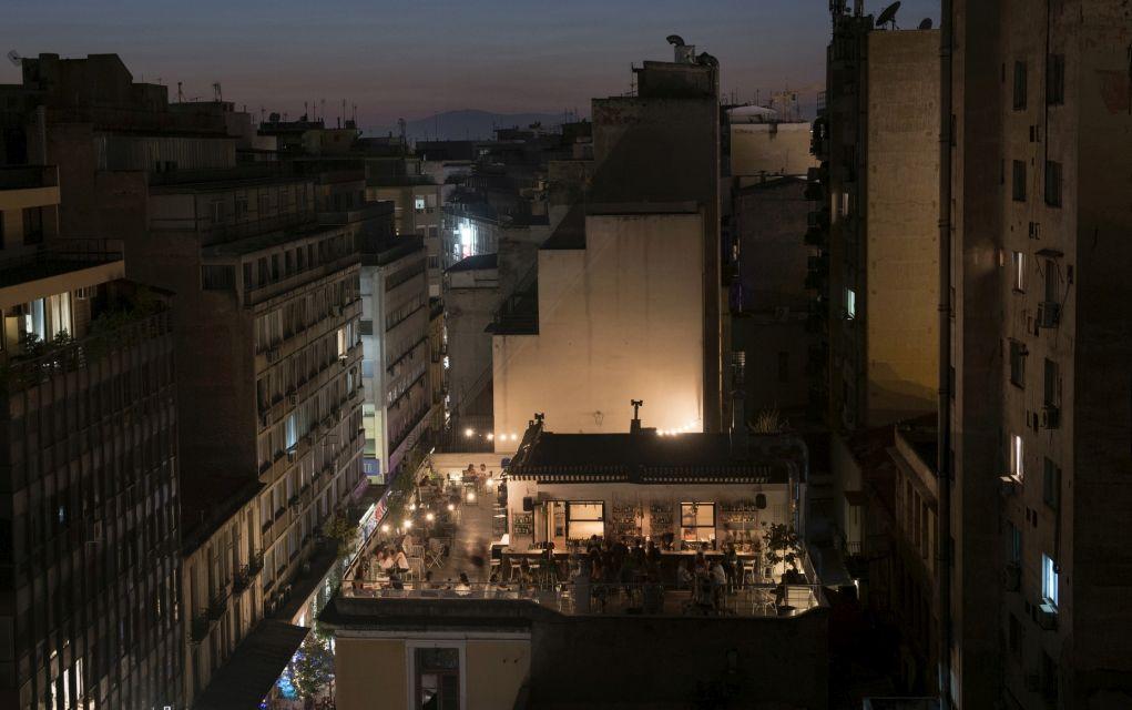 Ταράτσα στη Θεσσαλονίκη