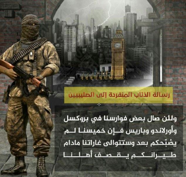 O ISIS απειλεί Λονδίνο και Πούτιν