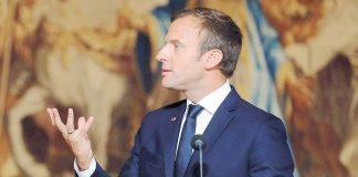 Ο Μακρόν εκφράζει την αλληλεγγύη του για την επίθεση στο Στρασβούργο