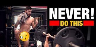 Δέκα πράγματα που δεν πρέπει να κάνετε ποτέ στο γυμναστήριο (video)