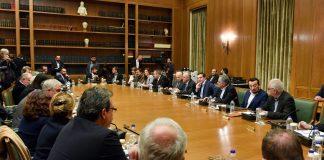 Παρουσία Τσίπρα το Υπουργικό Συμβούλιο