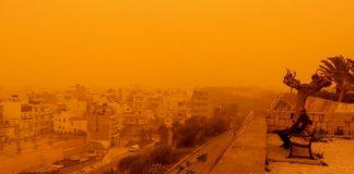 Άνοδος θερμοκρασίας και αφρικανική σκόνη