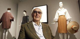 Πέθανε στα 91 του ο σχεδιαστής Givenchy