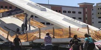 Κατέρρευσε γέφυρα στο Μαϊάμι – Τουλάχιστον 4 νεκροί (vd, pics)