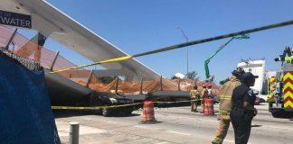 Video – ντοκουμέντο: Η στιγμή που καταρρέει η γέφυρα στο Μαϊάμι (vd)