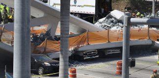 Ακόμη δύο νεκροί από την πτώση γέφυρας στο Μαϊάμι