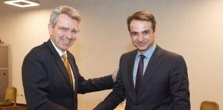 Τον αμερικανό πρέσβη συνάντησε ο Κ. Μητσοτάκης