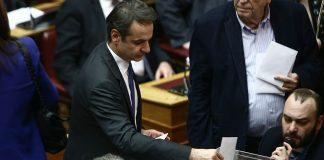 Καταψηφίστηκε η πρόταση της ΝΔ για προανακριτική