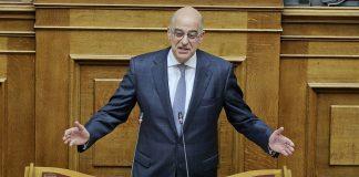 Δένδιας:«Σε πανικό για την επερχόμενη ήττα των ευρωεκλογών ο Τσίπρας»