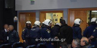Ντου οπαδών του ΠΑΟΚ σε εκδήλωση του Αδ. Γεωργιάδη