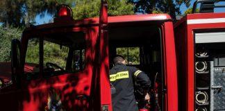 Φωτιά στο Λουτράκι:Εκκενώθηκαν προληπτικά μοναστήρι και γηροκομείο