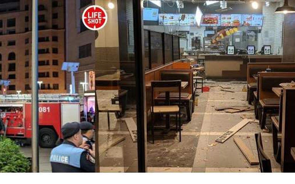 Αρμενία: Έκρηξη σε εστιατόριο- Συνολικά 7 τραυματίες (vd-pics)