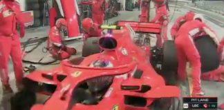 O Ραϊκόνεν πάτησε και τραυματισε μηχανικό της Ferrari! (video)