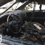 Θεσσαλονίκη: Κάηκαν τέσσερα αυτοκίνητα εντός πάρκινγκ