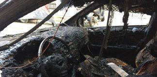 Στις φλόγες αυτοκίνητο στα διόδια Ωραιοκάστρου