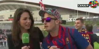 Φίλος της Μπαρτσελόνα χούφτωσε ρεπόρτερ σε ζωντανή μετάδοση!