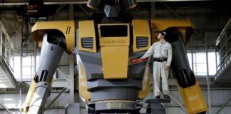 Ρομπότ- γίγαντας εμπνευσμένο από σειρά κινουμένων σχεδίων!