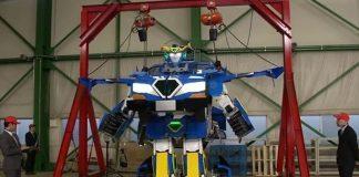 Ρομπότ εμπνευσμένο από τους...transformers!