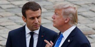 Θλίψη Μακρόν για την απόσυρση των Αμερικανών από τη Συρία