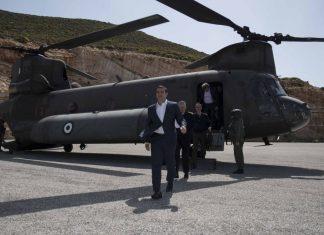 Θράσος! Τουρκική παρενόχληση στο ελικόπτερο του Αλέξη Τσίπρα