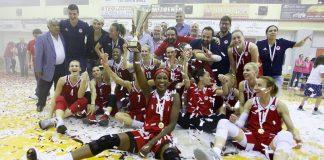 Νταμπλ για τρίτη σερί χρονιά στο μπάσκετ γυναικών ο Ολυμπιακός
