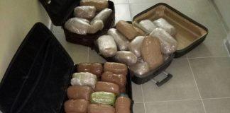 Αλβανός οδηγός συνελήφθη με 98 κιλά χασίς