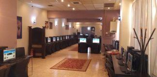 To internet-cafe στα δυτικά