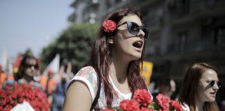 Η Θεσσαλονίκη τίμησε την Εργατική Πρωτομαγιά (pics)